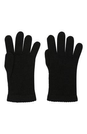 Женские перчатки BILANCIONI черного цвета, арт. 4908GU   Фото 2