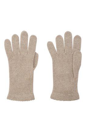 Женские перчатки BILANCIONI светло-бежевого цвета, арт. 4908GU   Фото 2