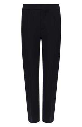 Женские шерстяные брюки CHLOÉ темно-синего цвета, арт. CHC21SPA93062 | Фото 1