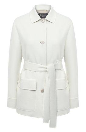 Женское кашемировое пальто LORO PIANA бежевого цвета, арт. FAL5421 | Фото 1