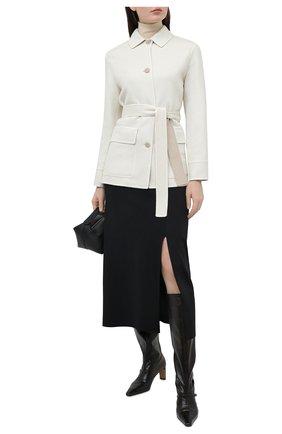 Женское кашемировое пальто LORO PIANA бежевого цвета, арт. FAL5421 | Фото 2