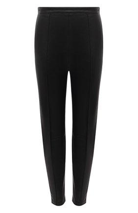 Женские кожаные брюки ISABEL MARANT черного цвета, арт. PA1897-21P001I/BLEETA | Фото 1