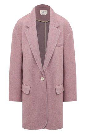 Женское пальто ISABEL MARANT ETOILE светло-розового цвета, арт. VE1519-21P005E/LATTY | Фото 1