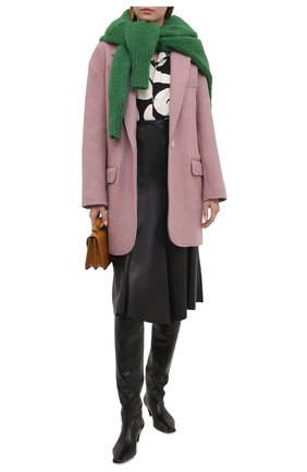 Женское пальто ISABEL MARANT ETOILE светло-розового цвета, арт. VE1519-21P005E/LATTY | Фото 2