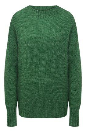 Женский свитер ISABEL MARANT зеленого цвета, арт. PU1386-21P030I/ESTELLE | Фото 1
