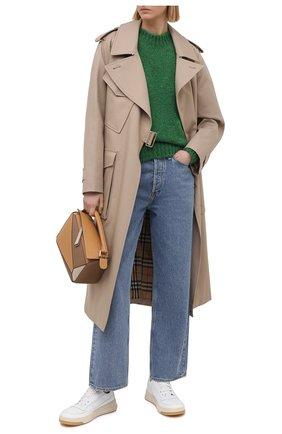 Женский свитер ISABEL MARANT зеленого цвета, арт. PU1386-21P030I/ESTELLE | Фото 2