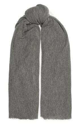 Женский кашемировый шарф ISABEL MARANT светло-серого цвета, арт. EC0080-00M015A/ZEPHYR | Фото 1