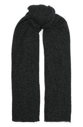 Женский кашемировый шарф ISABEL MARANT темно-серого цвета, арт. EC0080-00M015A/ZEPHYR | Фото 1