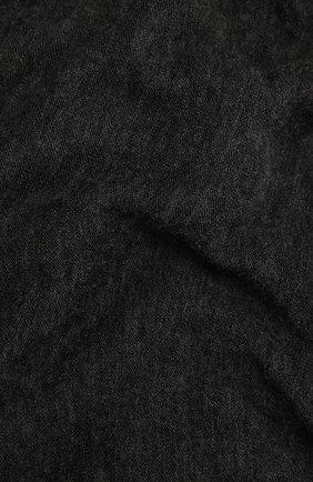Женский кашемировый шарф ISABEL MARANT темно-серого цвета, арт. EC0080-00M015A/ZEPHYR | Фото 2