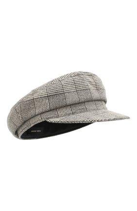 Женская кепи ISABEL MARANT черно-белого цвета, арт. CQ0001-21P036A/EVIE | Фото 1