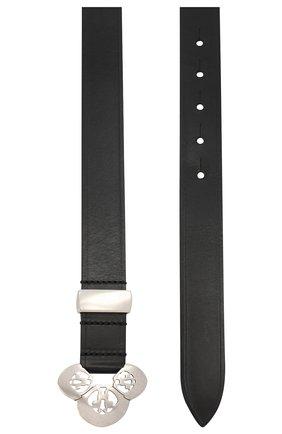 Женский кожаный ремень ISABEL MARANT черного цвета, арт. CE0526-21P004A/L0UAMA | Фото 2