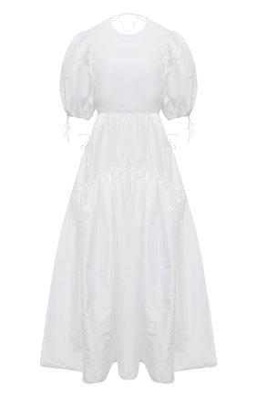 Женское платье CECILIE BAHNSEN белого цвета, арт. SC21-0079 | Фото 1