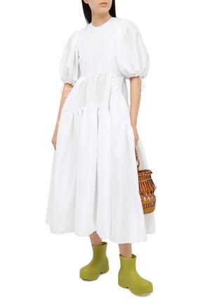 Женское платье CECILIE BAHNSEN белого цвета, арт. SC21-0079 | Фото 2