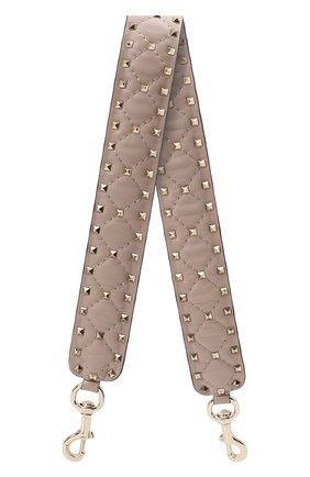 Женские ремень для сумки VALENTINO бежевого цвета, арт. VW2P0P37/NAP   Фото 1