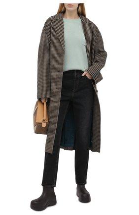 Женский кашемировый свитер BRUNELLO CUCINELLI светло-зеленого цвета, арт. M12178300 | Фото 2