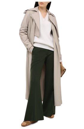 Женский кашемировый свитер TOM FORD белого цвета, арт. MAK1048-YAX294 | Фото 2