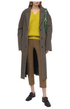 Женский кашемировый свитер TOM FORD желтого цвета, арт. MAK1048-YAX294 | Фото 2