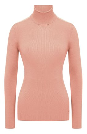 Женская водолазка из кашемира и шелка TOM FORD светло-розового цвета, арт. MAK840-YAX176   Фото 1
