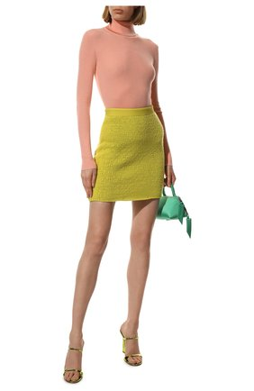Женская водолазка из кашемира и шелка TOM FORD светло-розового цвета, арт. MAK840-YAX176   Фото 2