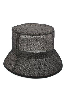 Женская панама REDVALENTINO черного цвета, арт. VQ2HGA04/QRH | Фото 1 (Материал: Текстиль, Синтетический материал)