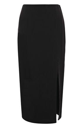 Женская юбка VALENTINO черного цвета, арт. VB3RA77065C | Фото 1