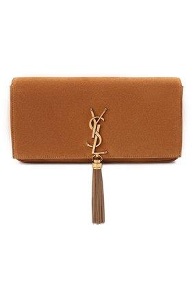 Женская сумка kate supple SAINT LAURENT коричневого цвета, арт. 604276/0UD7W | Фото 1