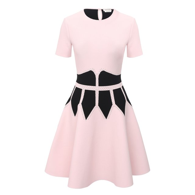 Платье из вискозы Alexander McQueen