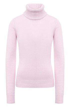 Женская кашемировая водолазка ALEXANDER MCQUEEN розового цвета, арт. 650363/Q1ATK   Фото 1 (Материал внешний: Шерсть, Кашемир; Рукава: Длинные; Стили: Кэжуэл; Женское Кросс-КТ: Водолазка-одежда; Длина (для топов): Удлиненные)
