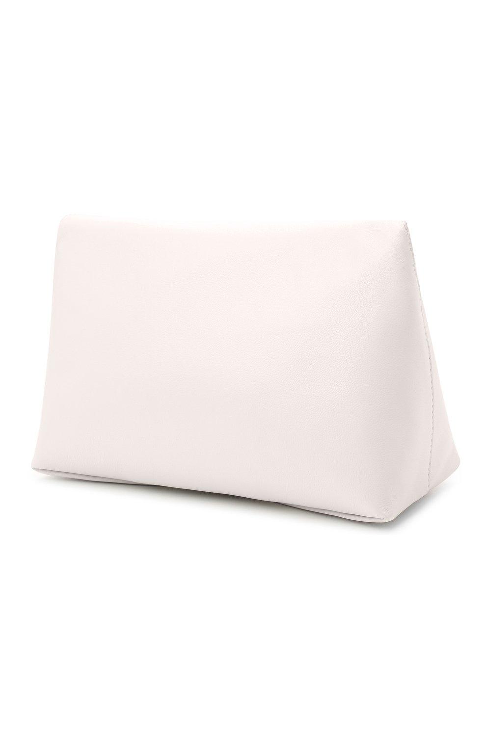 Женский клатч knuckle ALEXANDER MCQUEEN белого цвета, арт. 631865/CSRRT | Фото 3