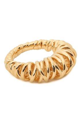 Женское кольцо BOTTEGA VENETA золотого цвета, арт. 649201/VAHU0 | Фото 1