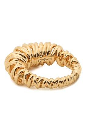 Женское кольцо BOTTEGA VENETA золотого цвета, арт. 649201/VAHU0 | Фото 2