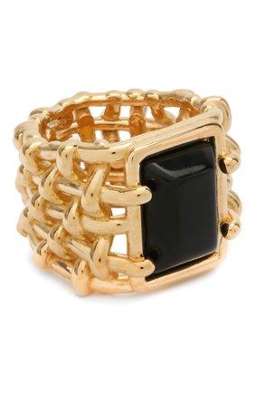 Женское кольцо BOTTEGA VENETA золотого цвета, арт. 649543/VAHU9 | Фото 1