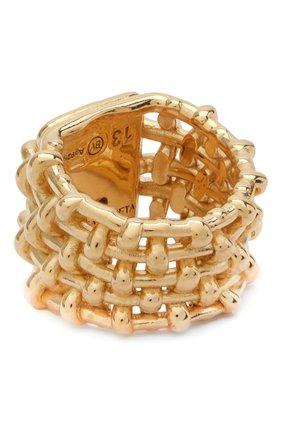 Женское кольцо BOTTEGA VENETA золотого цвета, арт. 649543/VAHU9 | Фото 2