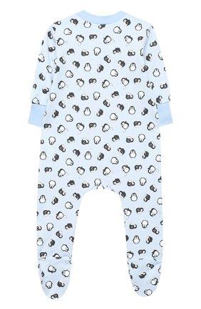 Детский хлопковый комбинезон MAGNOLIA BABY голубого цвета, арт. 788-428P-LB | Фото 2