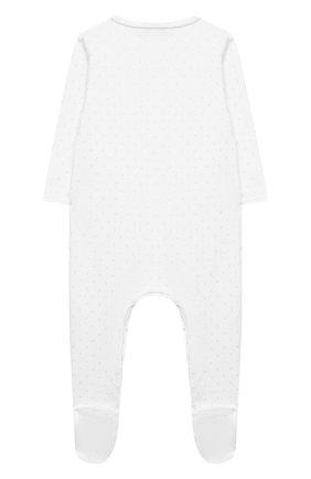 Детский хлопковый комбинезон MAGNOLIA BABY белого цвета, арт. E103-22P-WH | Фото 2