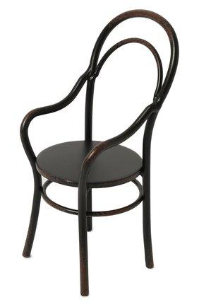Детского игрушечный стул с подлокотниками мини MAILEG черного цвета, арт. 11-9109-00 | Фото 1