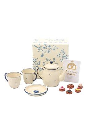 Детского игрушечный чайный набор на двоих MAILEG бежевого цвета, арт. 11-9115-00 | Фото 1