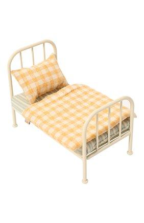 Детского игрушечная кровать для мишки тедди MAILEG разноцветного цвета, арт. 11-0102-00 | Фото 2