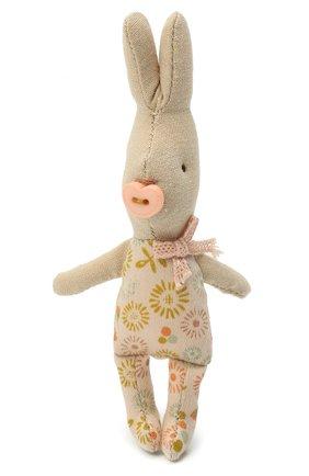 Детского игрушка новорожденный кролик мальчик MAILEG разноцветного цвета, арт. 16-0000-00 | Фото 1