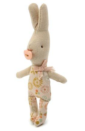 Детского игрушка новорожденный кролик мальчик MAILEG разноцветного цвета, арт. 16-0000-00 | Фото 2
