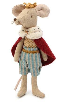 Детского игрушка мышонок король MAILEG разноцветного цвета, арт. 16-0743-00 | Фото 1