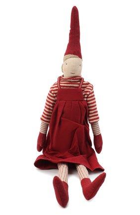 Детского игрушка гном пикси 1 медиум MAILEG красного цвета, арт. 14-0430-00   Фото 1