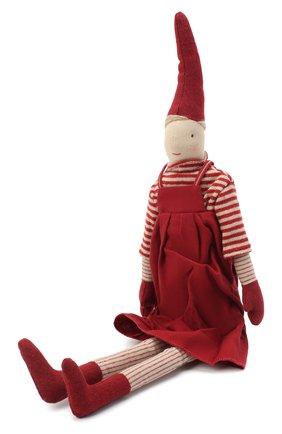 Детского игрушка гном пикси 1 медиум MAILEG красного цвета, арт. 14-0430-00   Фото 2