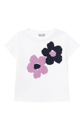 Детская хлопковая футболка IL GUFO разноцветного цвета, арт. P21TS312M0014/2A-4A | Фото 1
