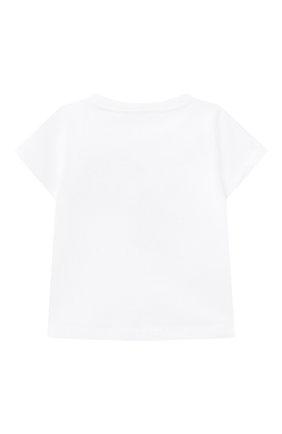 Детская хлопковая футболка IL GUFO разноцветного цвета, арт. P21TS312M0014/2A-4A | Фото 2