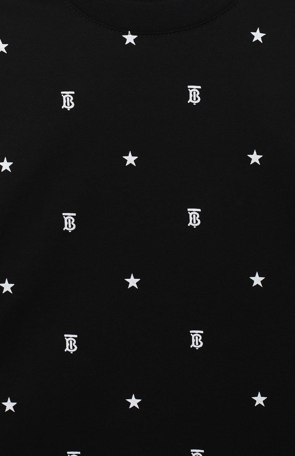 Детский комплект из двух комбинезонов BURBERRY черно-белого цвета, арт. 8037114   Фото 7