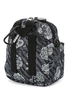 Детская рюкзак HARLEY-DAVIDSON серого цвета, арт. 99668 | Фото 2 (Материал: Текстиль)