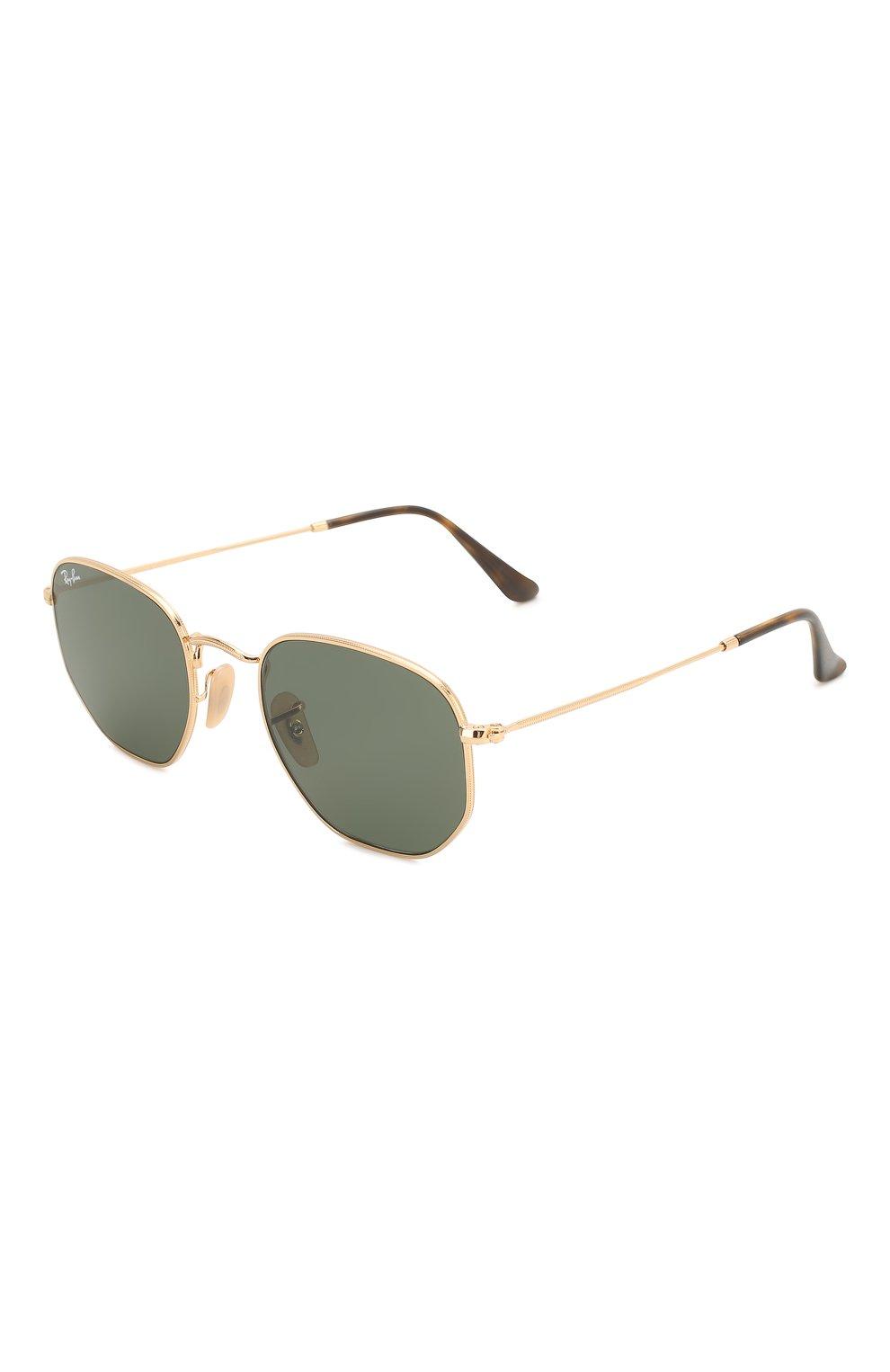 Женские солнцезащитные очки RAY-BAN черного цвета, арт. 3548N-001 | Фото 1