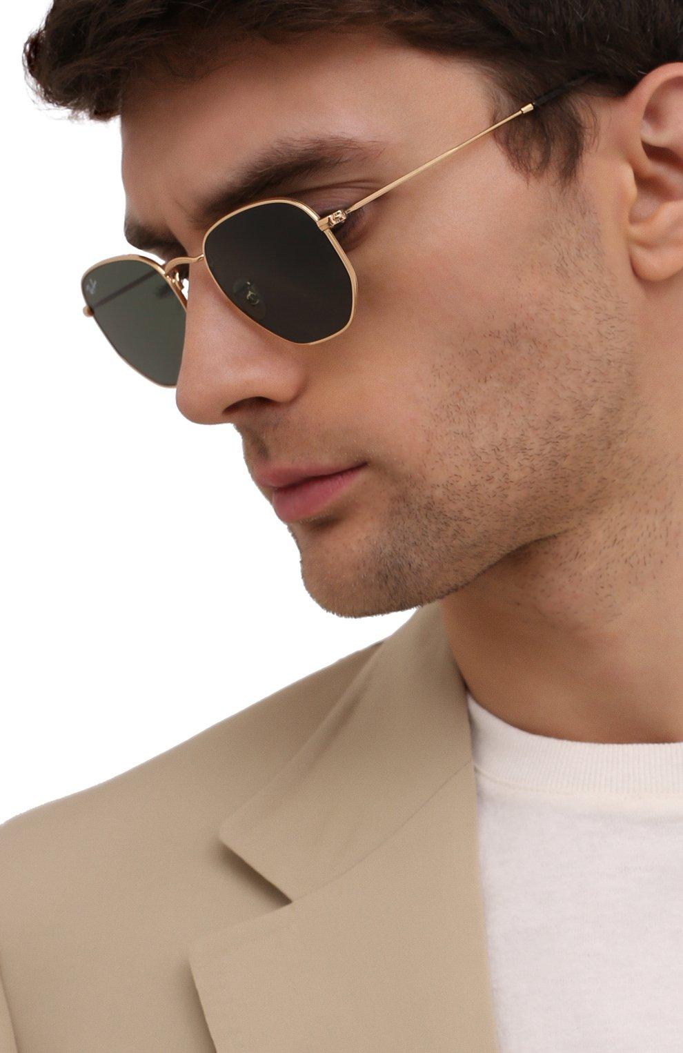 Женские солнцезащитные очки RAY-BAN черного цвета, арт. 3548N-001 | Фото 3
