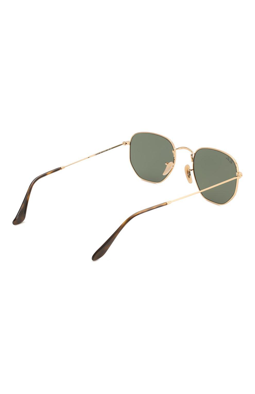 Женские солнцезащитные очки RAY-BAN черного цвета, арт. 3548N-001 | Фото 5